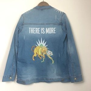 Holding United There is More Jean Jacket